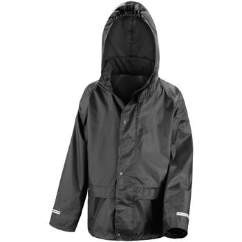 Vêtements Enfant Coupes vent Result R227J Noir