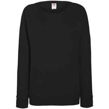 Vêtements Femme Sweats Fruit Of The Loom Raglan Noir