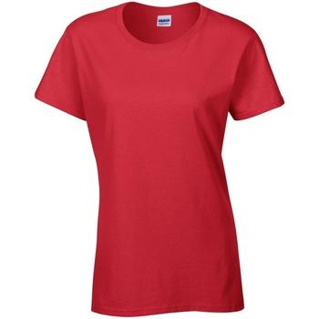 Vêtements Femme T-shirts manches courtes Gildan Missy Fit Rouge