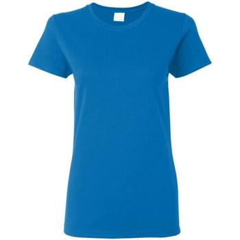 Vêtements Femme T-shirts manches courtes Gildan Missy Fit Bleu roi