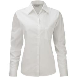 Vêtements Femme Chemises / Chemisiers Russell Work Blanc