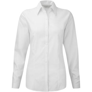 Vêtements Femme Chemises / Chemisiers Russell Chemisier à manches longues BC2740 Blanc