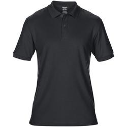Vêtements Homme Polos manches courtes Gildan Pique Noir