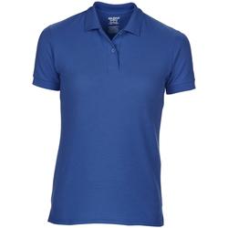 Vêtements Femme Polos manches courtes Gildan Pique Bleu roi