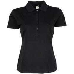 Vêtements Femme Polos manches courtes Tee Jays Stretch Noir