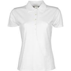 Vêtements Femme Polos manches courtes Tee Jays TJ145 Blanc