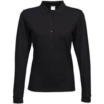 Vêtements Femme Polos manches longues Tee Jays Stretch Noir
