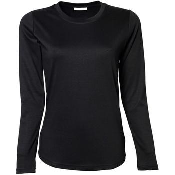 Vêtements Femme T-shirts manches longues Tee Jays TJ590 Noir