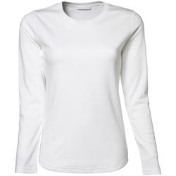 Vêtements Femme T-shirts manches longues Tee Jays Interlock Blanc