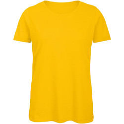 Vêtements Femme T-shirts manches courtes B And C Organic Or