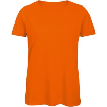 Vêtements Femme T-shirts manches courtes B And C Organic Orange