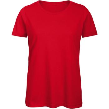 Vêtements Femme T-shirts manches courtes B And C Organic Rouge