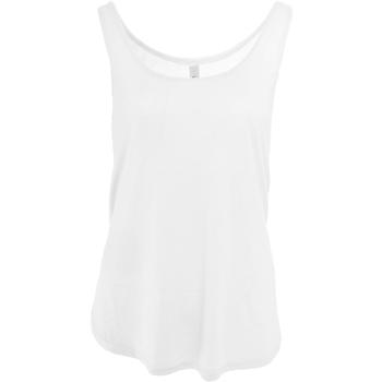 Vêtements Femme Débardeurs / T-shirts sans manche Bella + Canvas Flowy Blanc