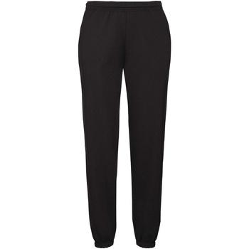 Vêtements Homme Pantalons de survêtement Fruit Of The Loom 64026 Noir