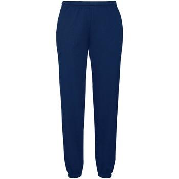Vêtements Homme Pantalons de survêtement Fruit Of The Loom 64026 Bleu marine