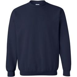 Vêtements Sweats Gildan 18000 Bleu marine
