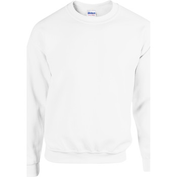 Vêtements Sweats Gildan 18000 Blanc