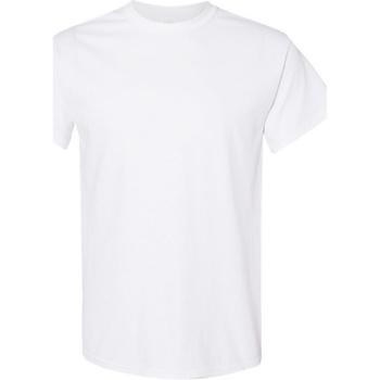 Vêtements Homme T-shirts manches courtes Gildan Heavy Blanc