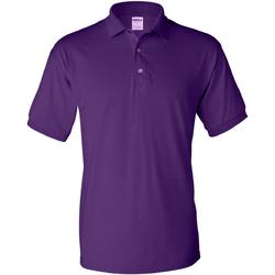 Vêtements Homme Polos manches courtes Gildan Jersey Violet foncé