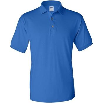 Vêtements Homme Polos manches courtes Gildan Jersey Bleu roI
