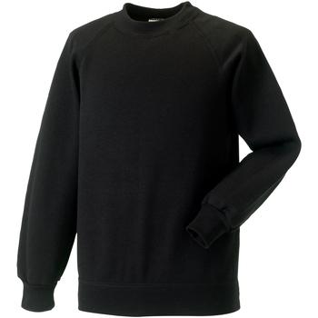 Vêtements Enfant Sweats Jerzees Schoolgear Raglan Noir