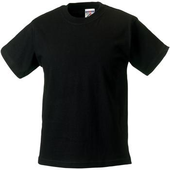 Vêtements Enfant T-shirts manches courtes Jerzees Schoolgear Classics Noir