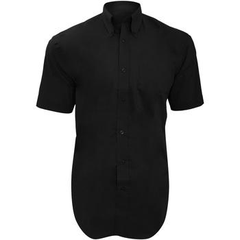 Vêtements Homme Chemises manches courtes Kustom Kit KK109 Noir