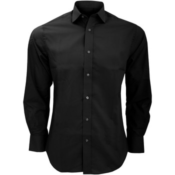 Vêtements Homme Chemises manches longues Kustom Kit KK131 Noir