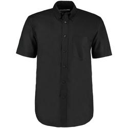 Vêtements Homme Chemises manches courtes Kustom Kit KK350 Noir