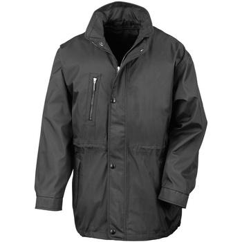 Vêtements Homme Manteaux Result R110X Noir