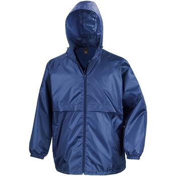Vêtements Homme Coupes vent Result Windcheater Bleu royal