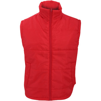 Vêtements Homme Gilets / Cardigans Result Windproof Rouge