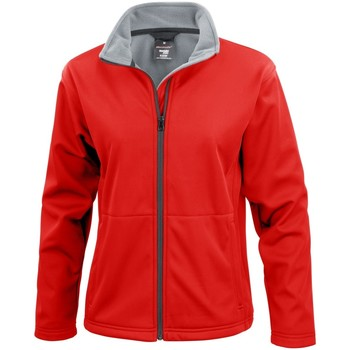 Vêtements Femme Polaires Result Soft Shell Rouge