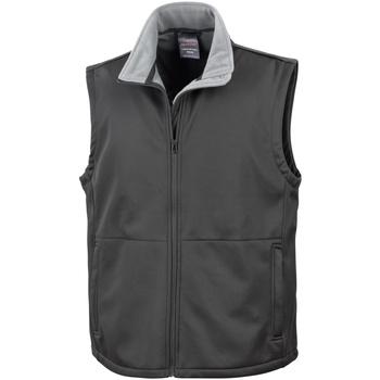 Vêtements Homme Gilets / Cardigans Result R214X Noir