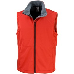 Vêtements Homme Gilets / Cardigans Result Soft Shell Rouge