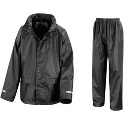 Vêtements Enfant Ensembles de survêtement Result R225J Noir