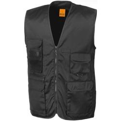 Vêtements Homme Gilets / Cardigans Result R45X Noir