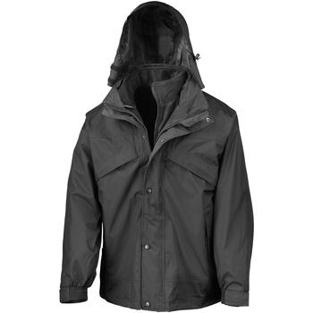 Vêtements Homme Coupes vent Result R68X Noir
