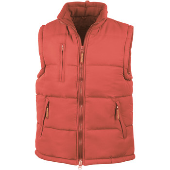 Vêtements Homme Doudounes Result Windproof Rouge