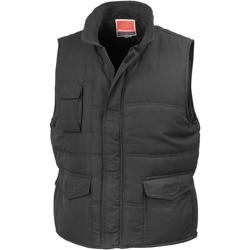 Vêtements Homme Gilets / Cardigans Result R94X Noir