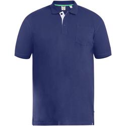 Vêtements Homme Polos manches courtes Duke D555 Bleu marine