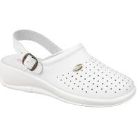 Chaussures Femme Sabots Dek Swivel Blanc
