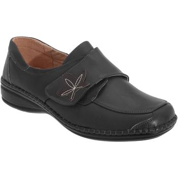Chaussures Femme Mocassins Boulevard Wide Fit Noir