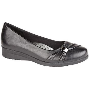 Chaussures Femme Derbies & Richelieu Boulevard Wedge Noir