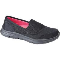 Chaussures Femme Slip ons Dek Gusset Noir