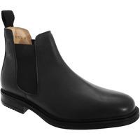 Chaussures Homme Boots Roamers Gusset Noir