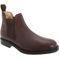 Chaussures Homme Boots Roamers Gusset Marron