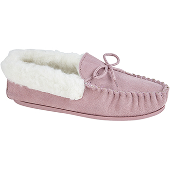 Chaussures Femme Chaussons Mokkers Moccasin Rose