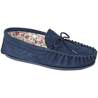 Chaussures Femme Chaussons Mokkers Lily Bleu marine
