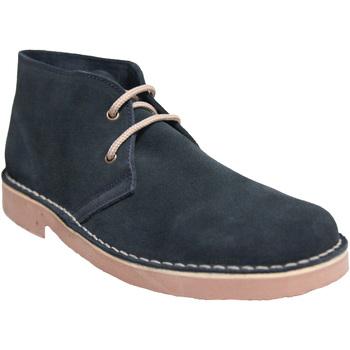 Chaussures Homme Boots Roamers  Bleu marine